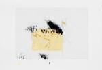 Série Revelação, 2012. ouro, grafite e tinta gráfica s/ papel 41.5x29cm