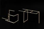 Sem título, 2012. Madeira 11.5x17.5x6.7cm; 11x20x8cm